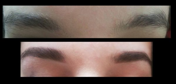 correction sourcils
